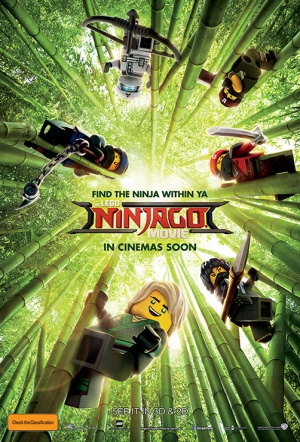 The Lego Ninjago Movie Film Poster