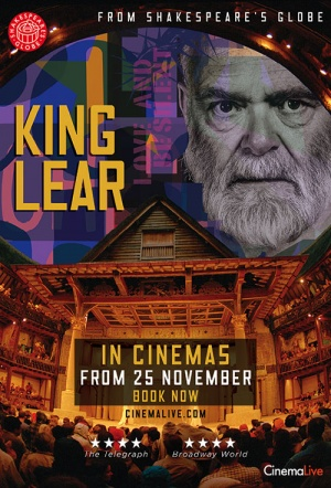 King Lear: Live from Shakespeare's Globe Film Poster