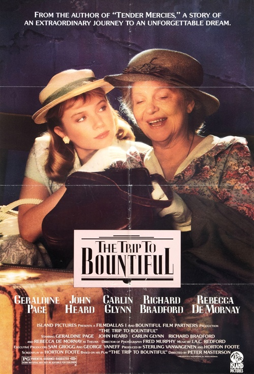 The Trip to Bountiful Film Poster