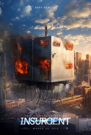 The Divergent Series: Insurgent 3D Film Poster