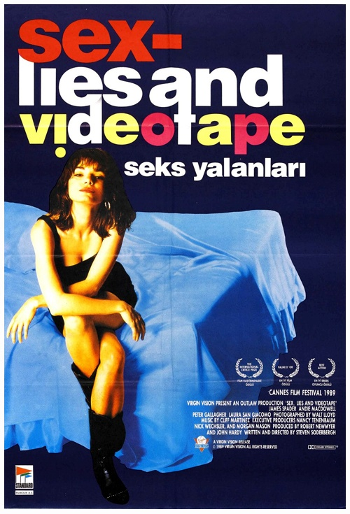 Sex, Lies and Videotape Film Poster