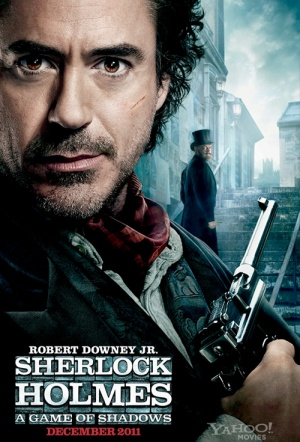 Sherlock Holmes: A Game of Shadows Film Poster