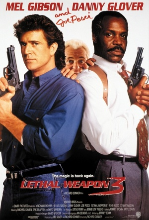 Lethal Weapon 3 Film Poster