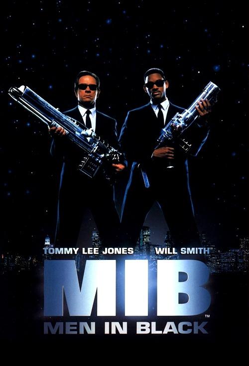 movie poster for men in black flicks
