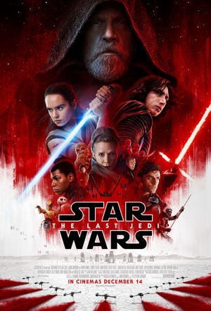 Star Wars 3D: The Last Jedi Film Poster