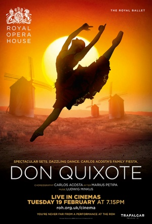 Royal Ballet: Don Quixote Film Poster