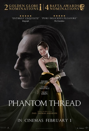 Phantom Thread Film Poster