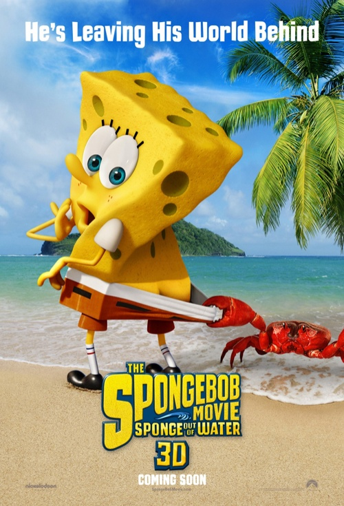 The SpongeBob Movie: Sponge Out of Water 3D Film Poster