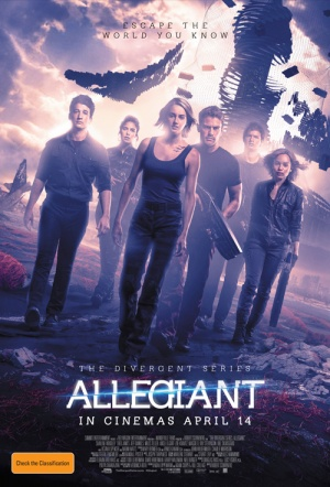 The Divergent Series: Allegiant Film Poster