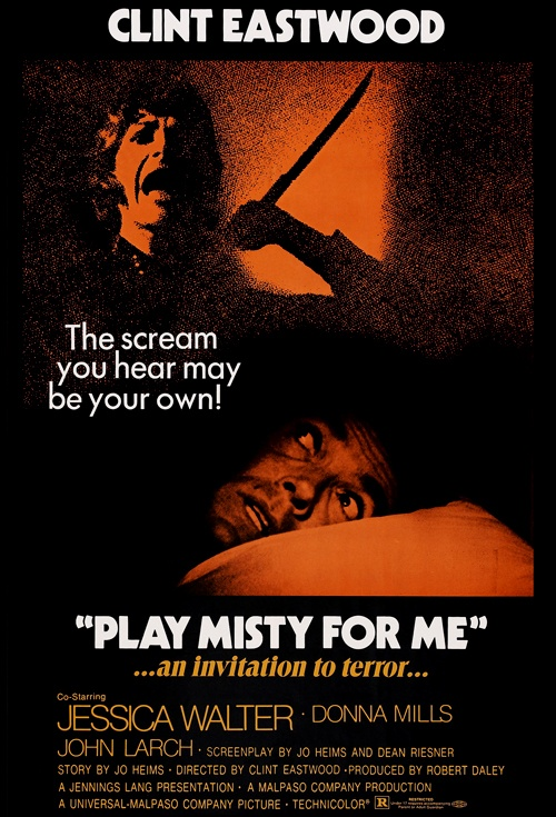 Play Misty For Me Film Poster