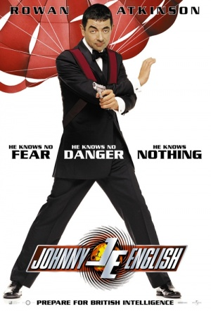 Johnny English (2003) Film Poster