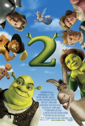 Shrek 2 Film Poster