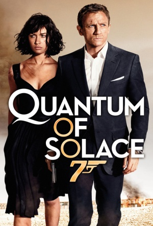 Quantum of Solace Film Poster