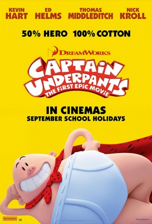 Captain Underpants: The First Epic Movie Film Poster