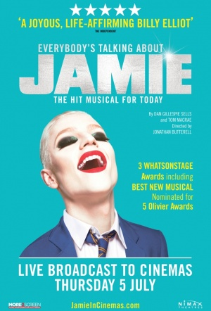 Everybody's Talking About Jamie Film Poster