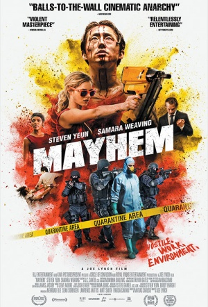 Mayhem Film Poster