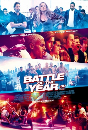 Battle of the Year 3D Film Poster