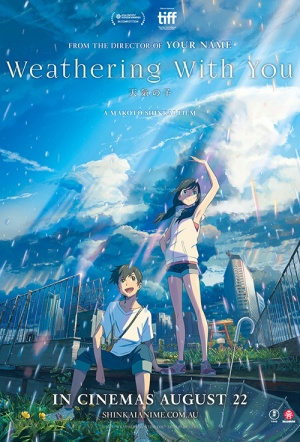Weathering with You Film Poster