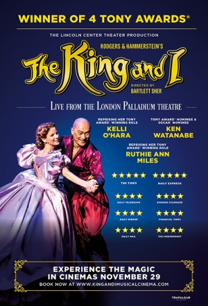 The King and I: From the London Palladium Film Poster