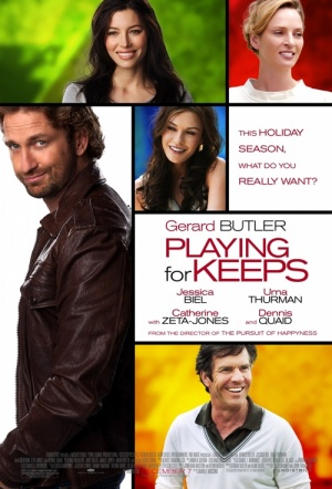 Playing for Keeps Film Poster