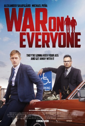 War on Everyone Film Poster