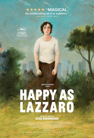 Happy As Lazzaro Film Poster