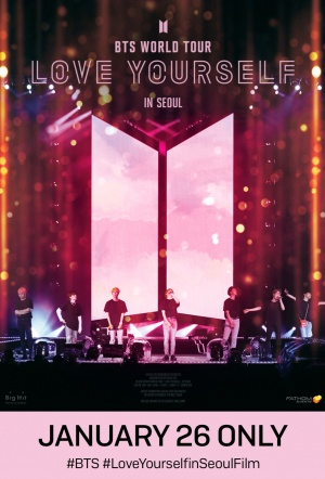BTS World Tour: Love Yourself in Seoul Film Poster