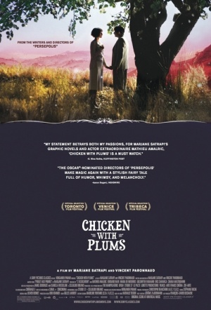 Chicken with Plums Film Poster