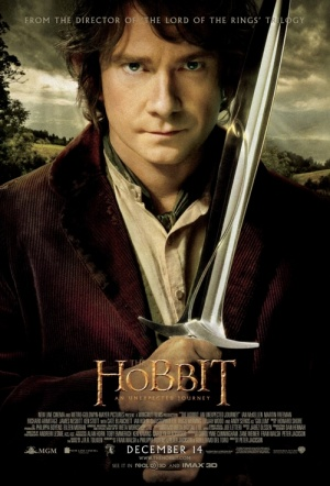 The Hobbit: An Unexpected Journey 3D Film Poster