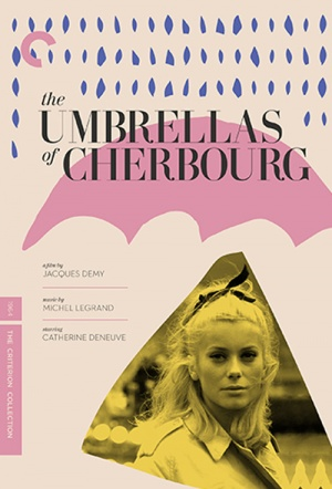 The Umbrellas of Cherbourg Film Poster