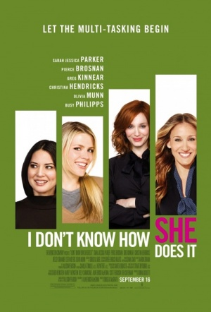 I Don't Know How She Does It Film Poster