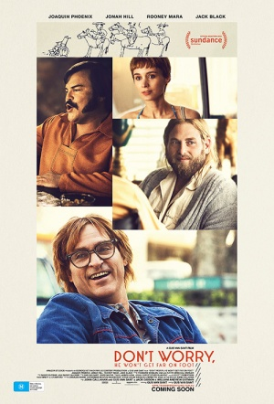 Don't Worry, He Won't Get Far on Foot Film Poster