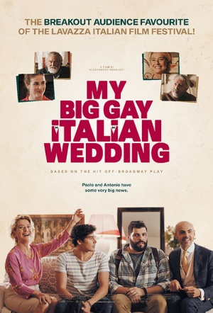 My Big Gay Italian Wedding Film Poster