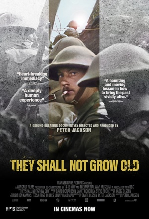 They Shall Not Grow Old 3D Film Poster