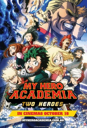 My Hero Academia: The Two Heroes (English dub)