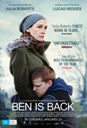 Ben is Back Film Poster