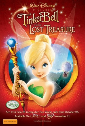 Tinker Bell and the Lost Treasure Film Poster