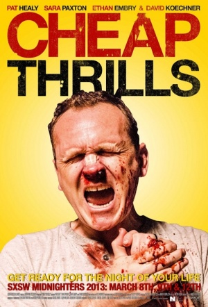Cheap Thrills Film Poster
