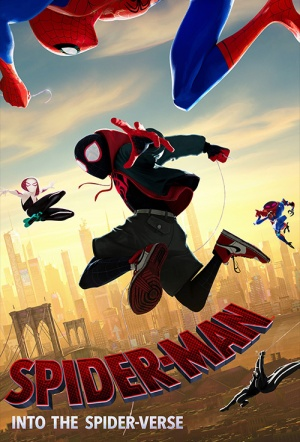 Spider-Man: Into the Spider-Verse (Sneak Screenings) Film Poster