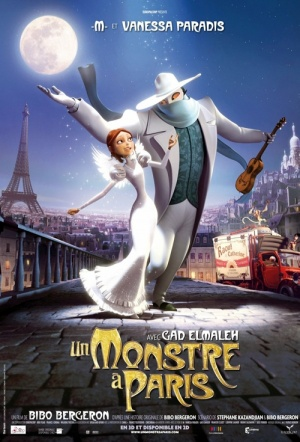 A Monster in Paris Film Poster