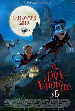 The Little Vampire 3D Film Poster