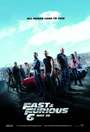 Fast and Furious 6 Film Poster