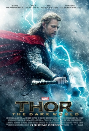 Thor: The Dark World 3D Film Poster