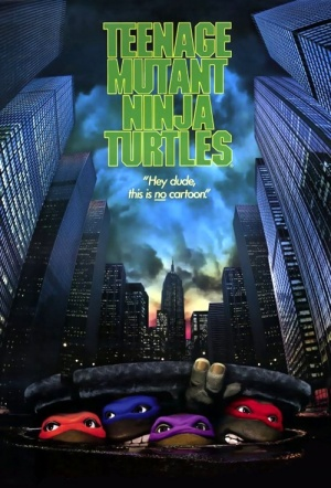 Teenage Mutant Ninja Turtles (1990) Film Poster