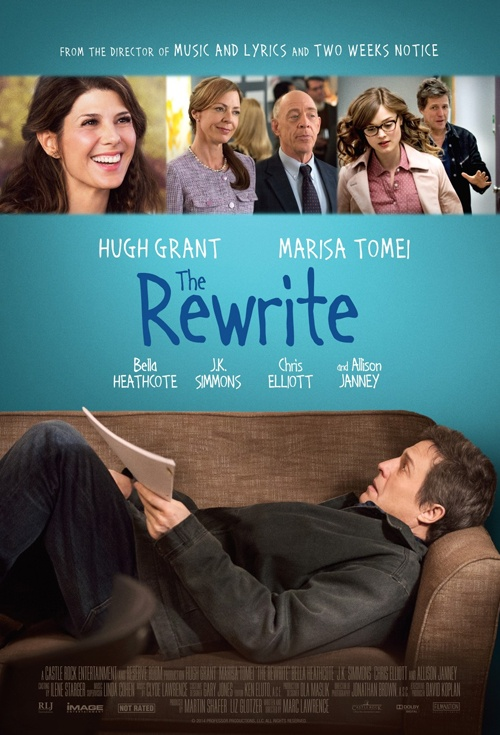 The Rewrite Film Poster