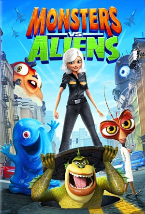 Monsters vs. Aliens 3D Film Poster
