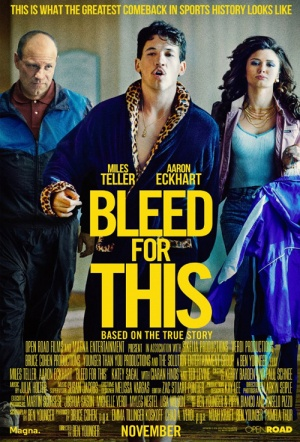 Bleed for This Film Poster