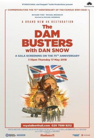The Dam Busters Film Poster