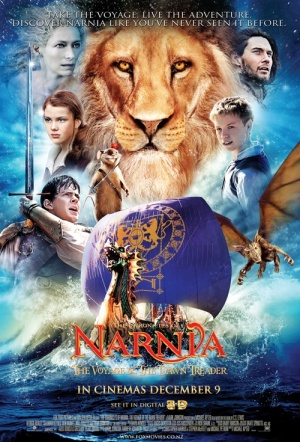 The Chronicles of Narnia: The Voyage of the Dawn Treader 3D Film Poster