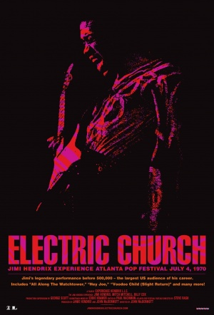 Jimi Hendrix: Electric Church Film Poster